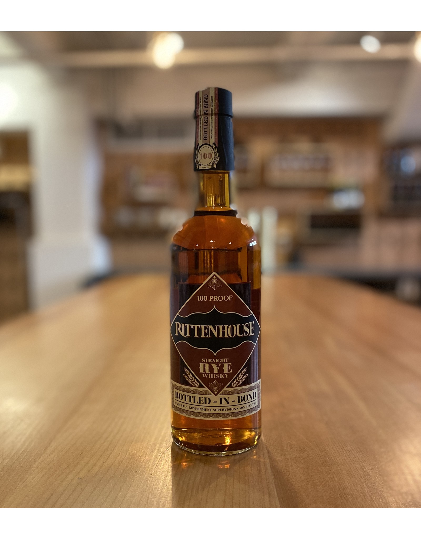 Rye Rittenhouse 100 Proof Rye Whiskey 750ml - Kentucky