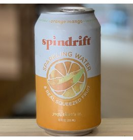 Water-Sparkling Mineral Spindrift Orange Mango Sparkling Water - Newton, MA