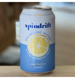 Water-Sparkling Mineral Spindrift Lemon Sparkling Water - Newton, MA