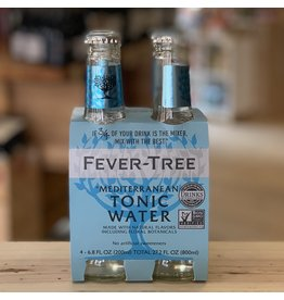 Mixers Fever Tree ''Mediterranean'' Tonic Water 4-Pack - United Kingdom
