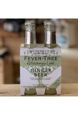 Fever Tree Light Ginger Beer 4 pack
