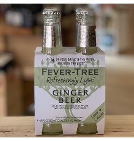 Fever Tree Light Ginger Beer 4 pack