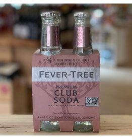 Mixers Fever Tree Club Soda 200ml 4-Pack