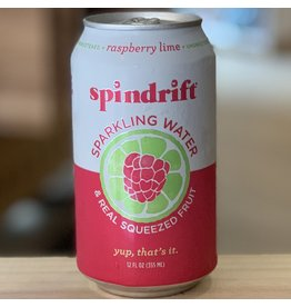 Water-Sparkling Mineral Spindrift Raspberry Lime Sparkling Water - Newton, MA