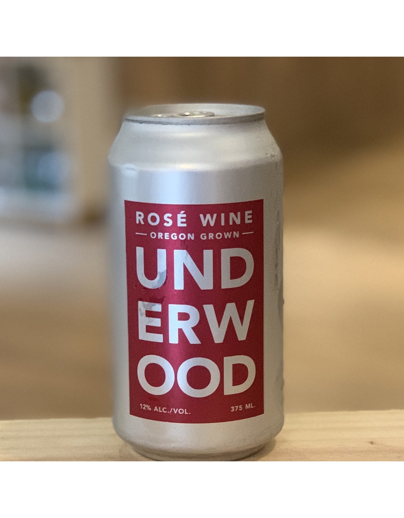 Can Wine Underwood Rose Can 375ml - Oregon