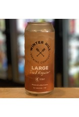 Stout Winter Hill Brewing Company ''Large Iced Regular'' Stout w/Coffee - Somerville, MA