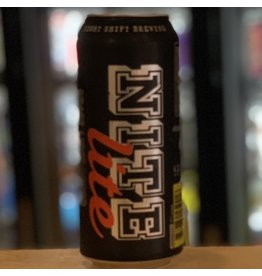 "Lager Night Shift ""Nite Lite"" Lager 16oz Can - Everett, MA"