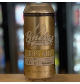 Wheat Gneiss Brewing Company ''Gneiss Weisse'' Hefeweizen - Limerick, Maine