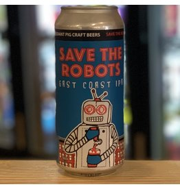 IPA Radiant Pig Craft Beers ''Save The Robots'' East Coast IPA - Newport, RI