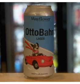 Lager Mayflower Brewing Company ''OttoBahn'' Lager - Plyouth, MA