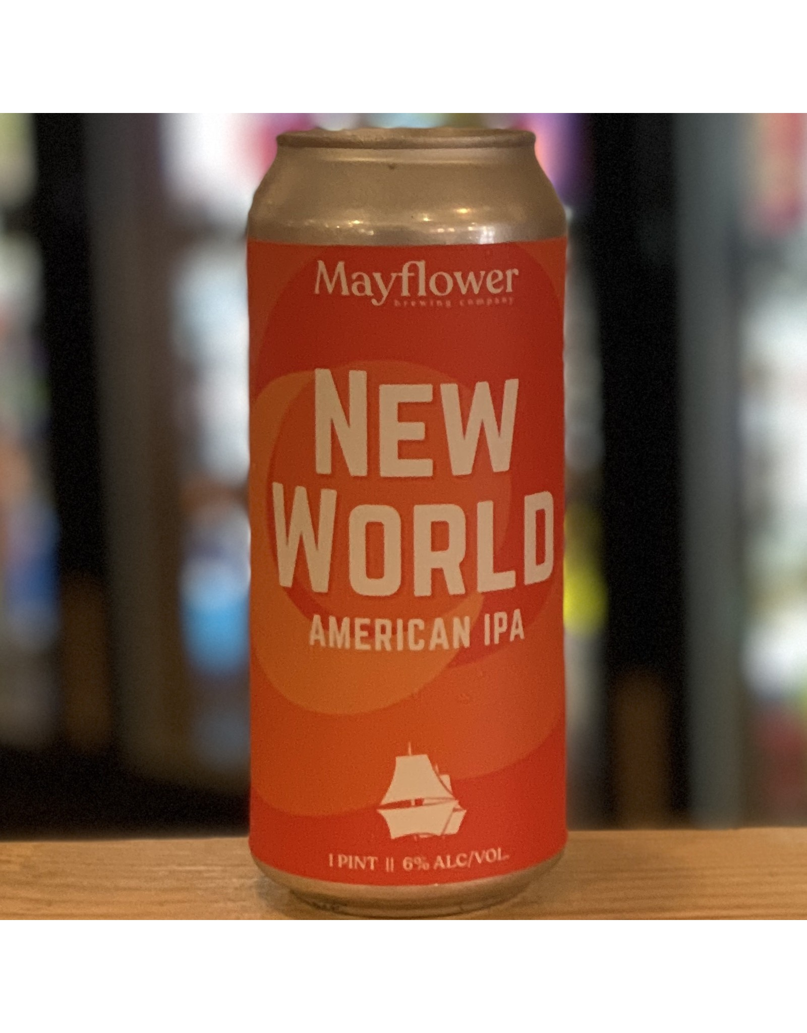 IPA Mayflower Brewing Company ''New World'' IPA - Plymouth, MA