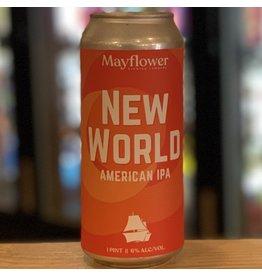 IPA Mayflower Brewing Company ''New World'' IPA - Plymouth, MA