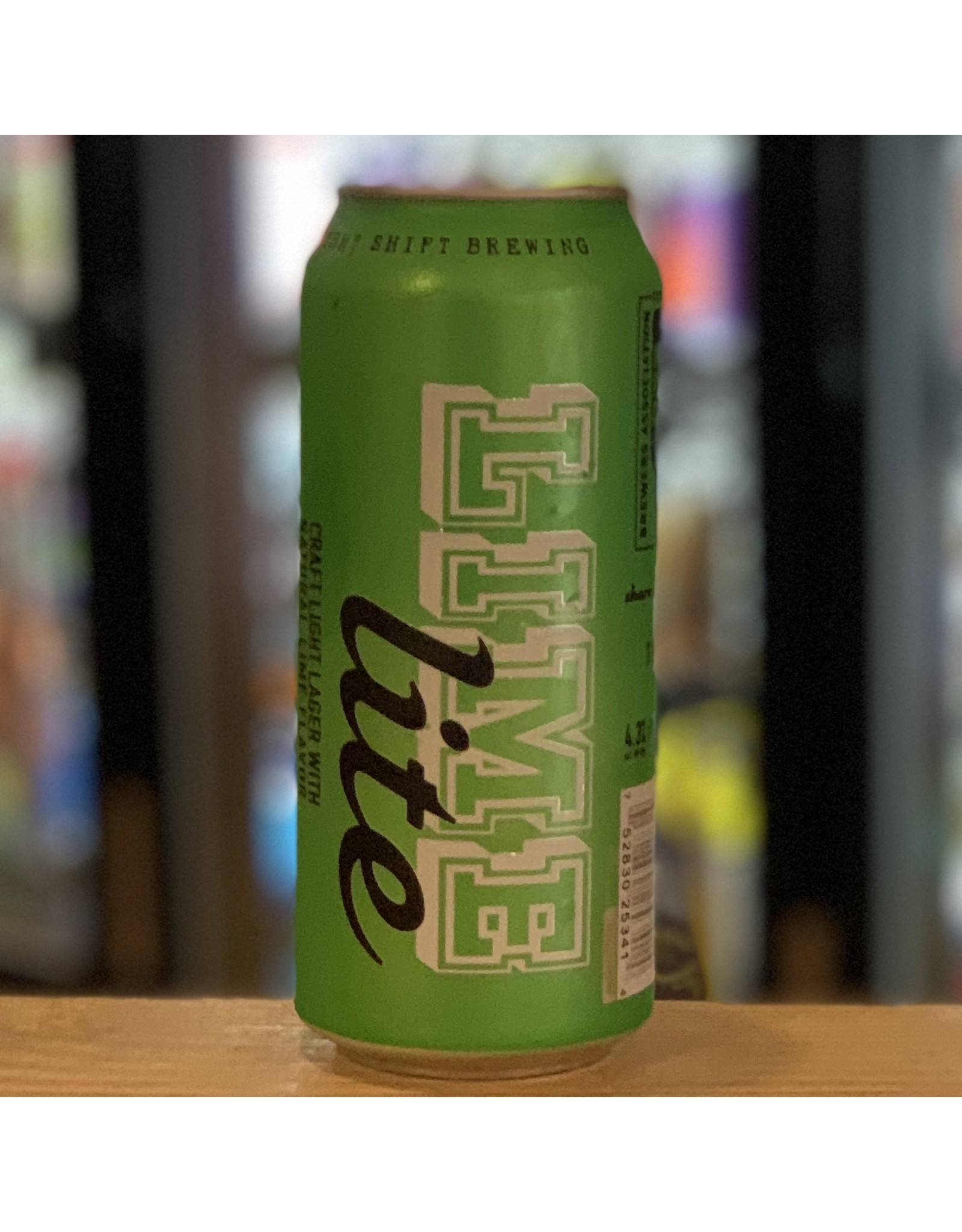 """Lager Night Shift """"Lime Lite"""" Lager w/Lime 16oz Can - Everett, MA"""