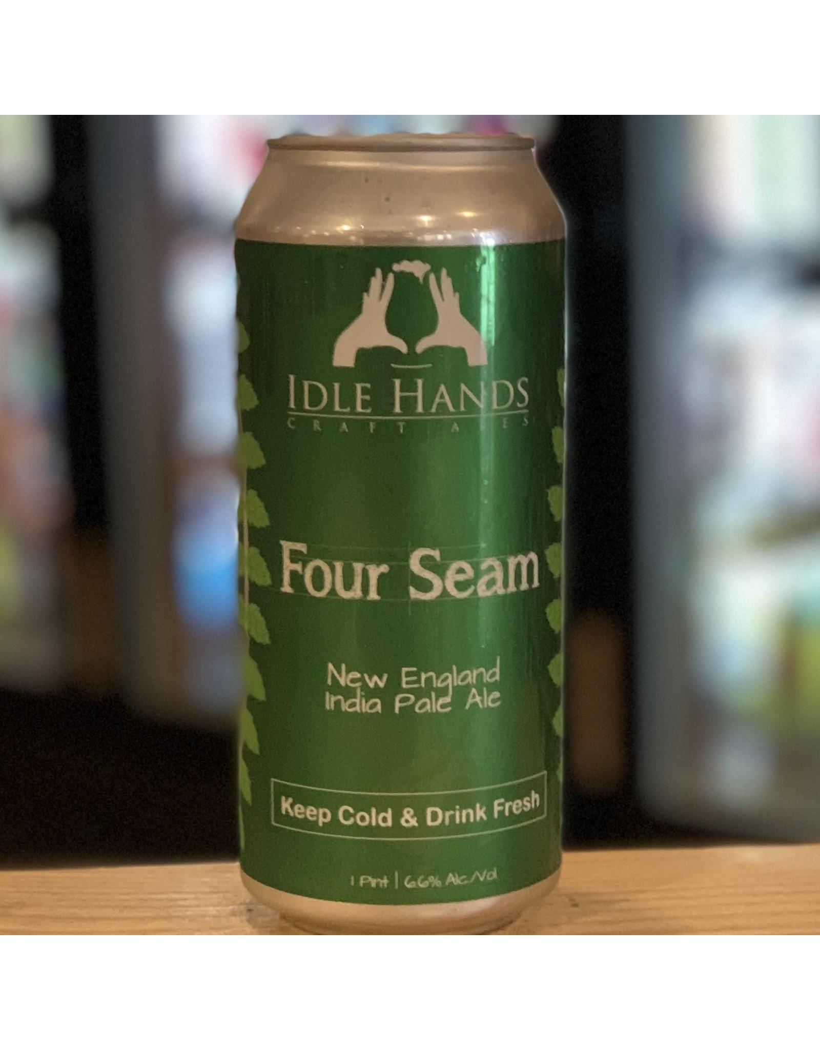 NEIPA Idle Hands ''Four Seam'' NEIPA - Malden, MA