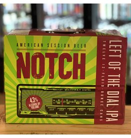 12-Pack Notch Brewing ''Left Of The Dial'' Session IPA 12-Pack - Salem, MA