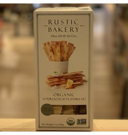 Cracker Rustic Bakery Flatbread Olive Oil and Sel Gris 6oz