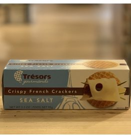 Cracker Tresors Gourmands Sea Salt Crispy French Crackers