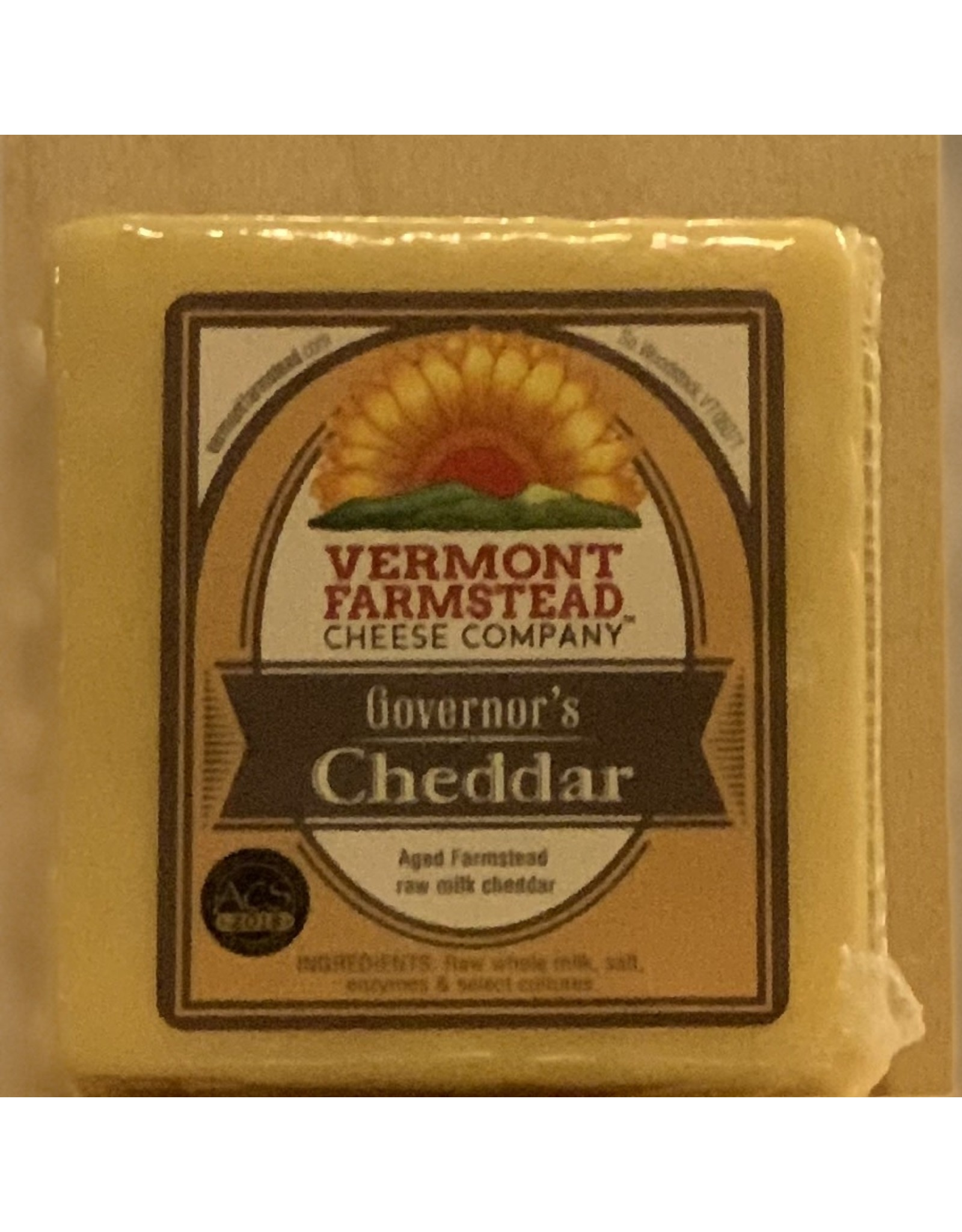 Cheese Vermont Farmstead Cheese Co. Governor's Cheddar - Vermont 7oz