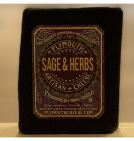 Cheese Plymouth Artisan Cheese Sage & Herb Purple Wax - Vermont 8oz