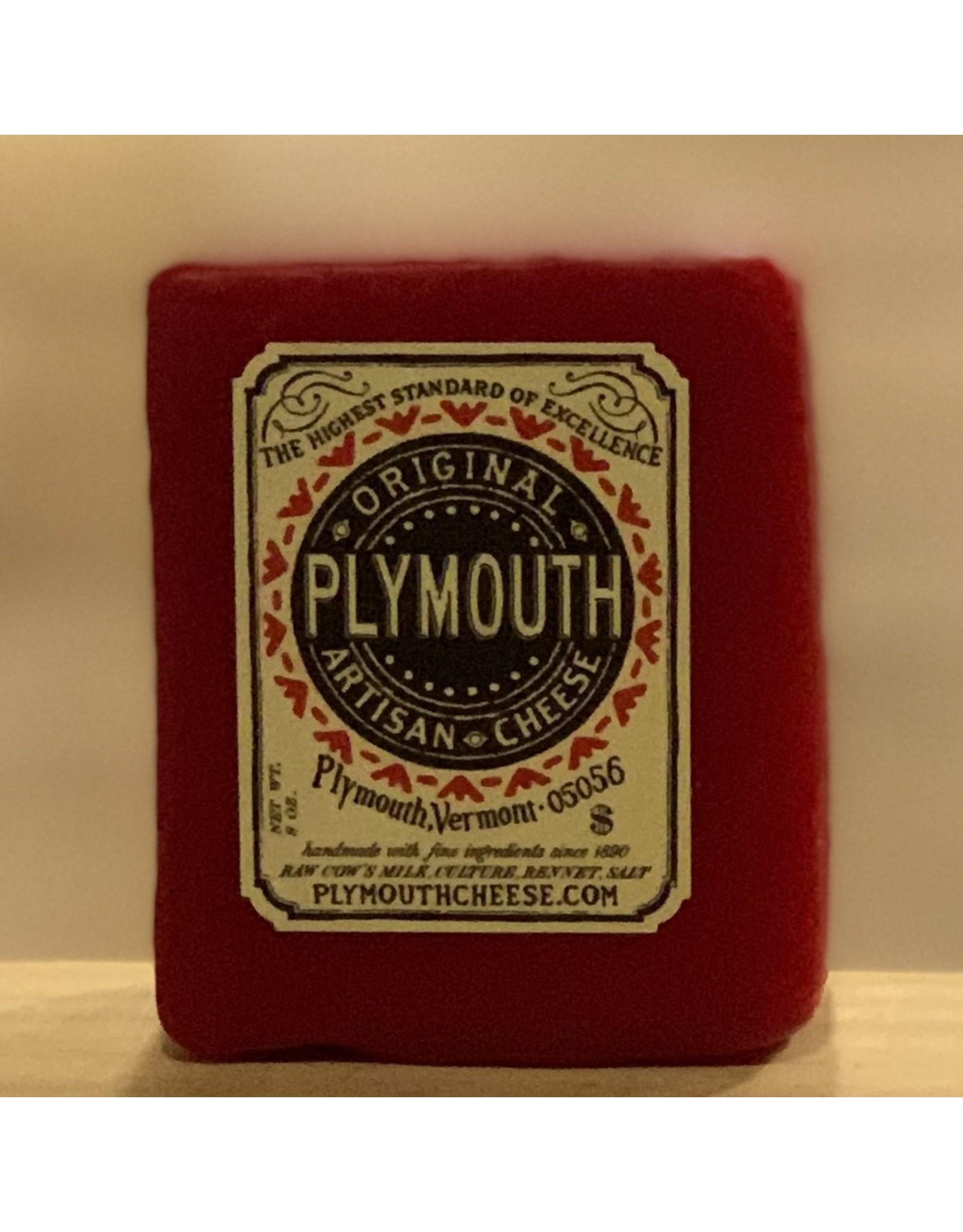 Cheese Plymouth Artisan Cheese Original Red Wax 8oz- Vermont