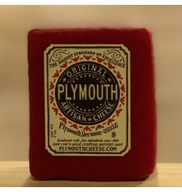 Cheese Plymouth Artisan Cheese Original Red Wax 8oz- Vermont
