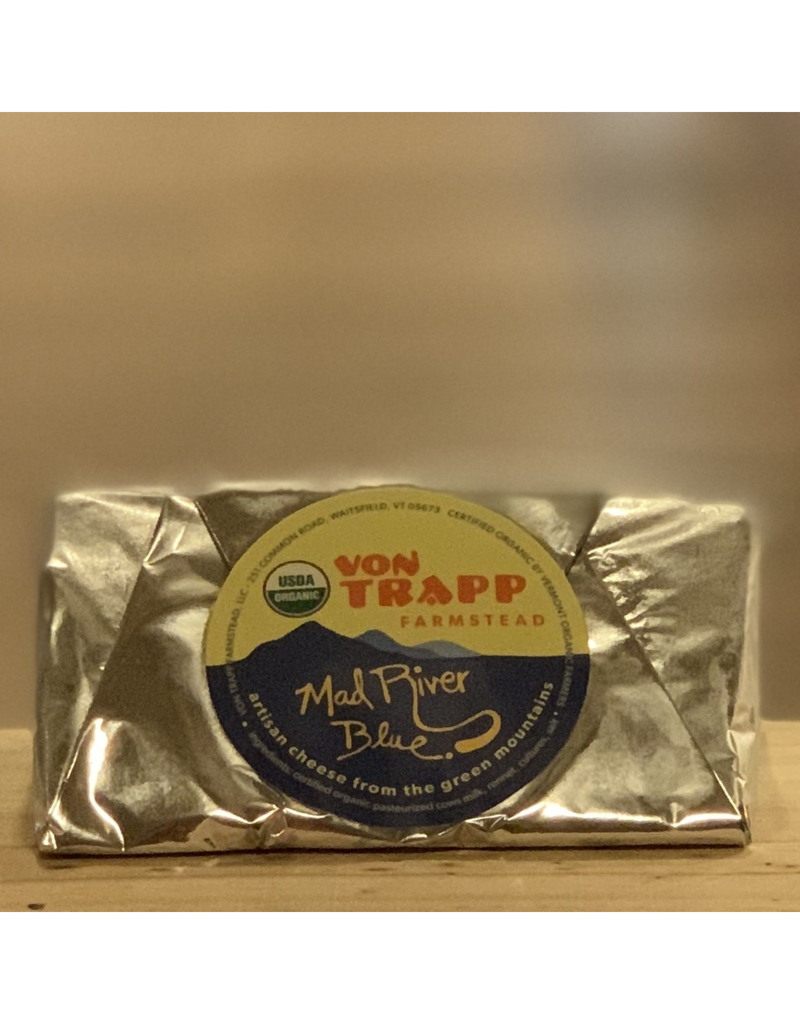 Cheese Von Trapp Farmstead ''Mad River Blue'' Organic Blue Cheese - Waitsfield, Vermont
