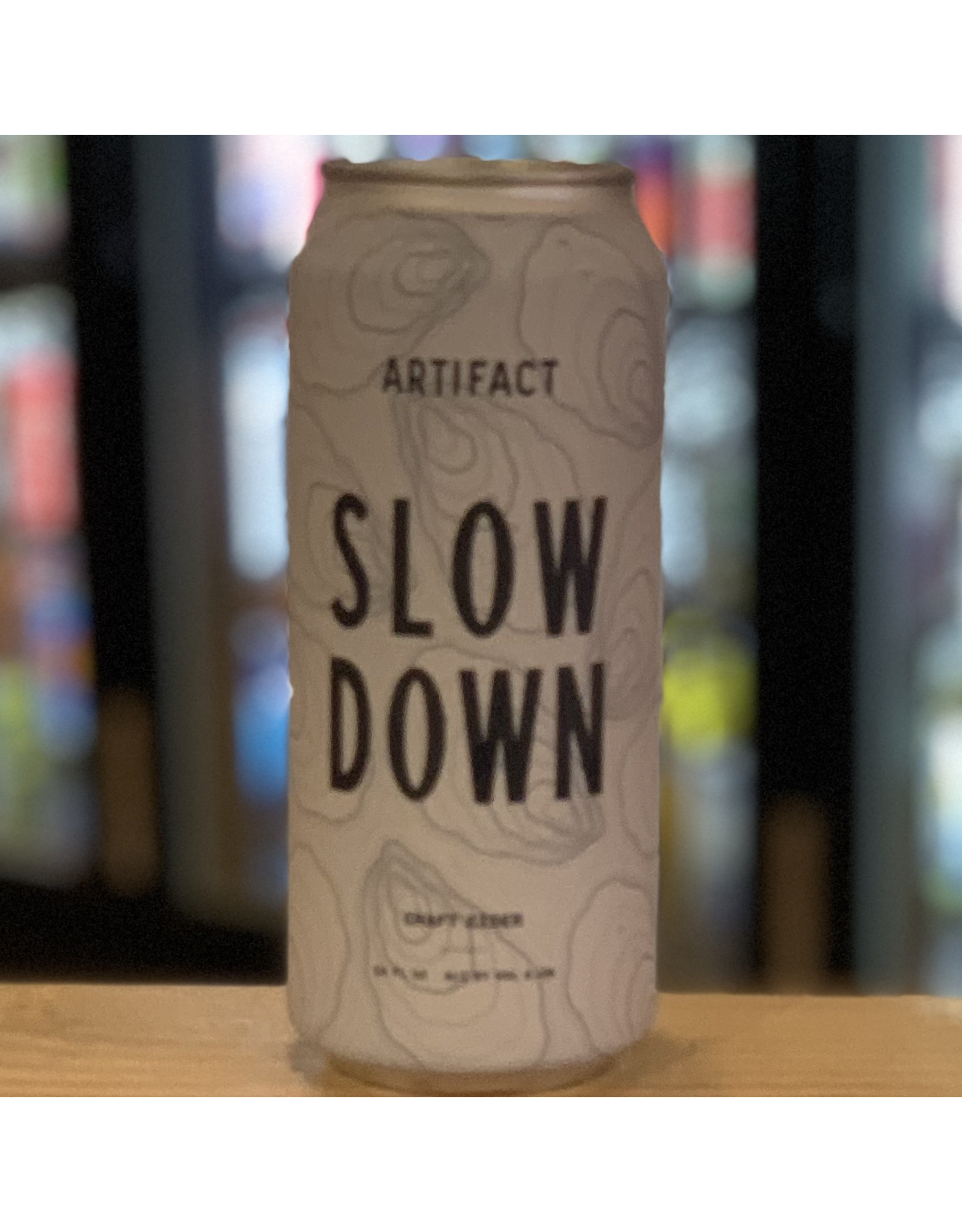 Cider Artifact ''Slow Down'' Semi-Sweet Cider - Florence, MA