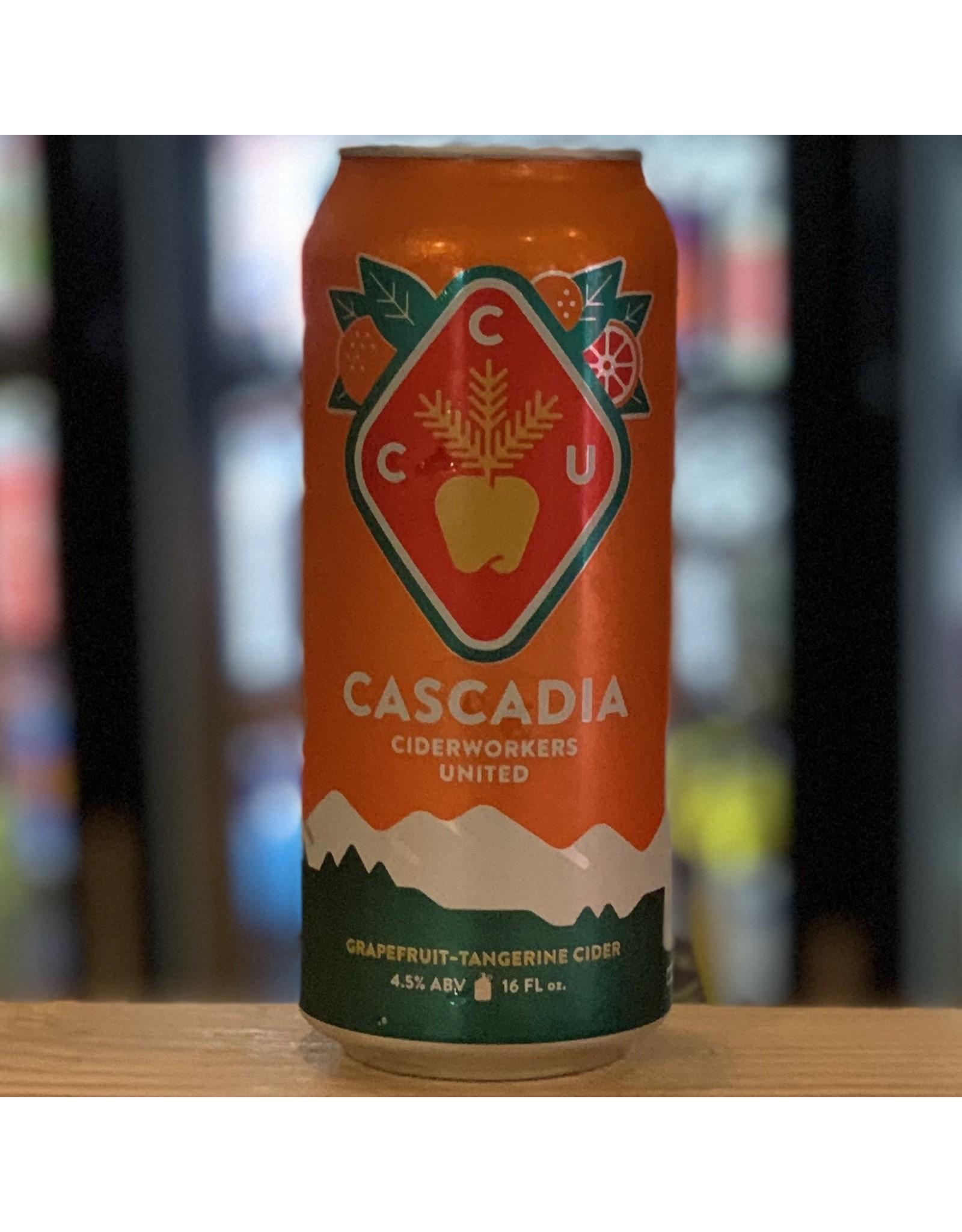 Cider Cascadia Cider w/Grapefruit and Tangerine - Portland, Oregon