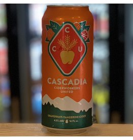 Cider Cascadia Cider w/Grapefruit and Tangerine - Portland, Oregon
