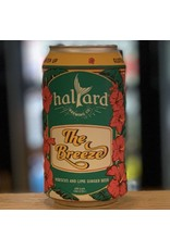 Hard Seltzer Halyard Brewing Company ''The Breeze'' Ginger Beer w/Hibiscus and Lime - South Burlington, Vermont