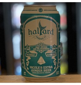 Hard Seltzer Halyard Brewing Company ''Nicole's'' Extra Ginger Beer - South Burlington, VT