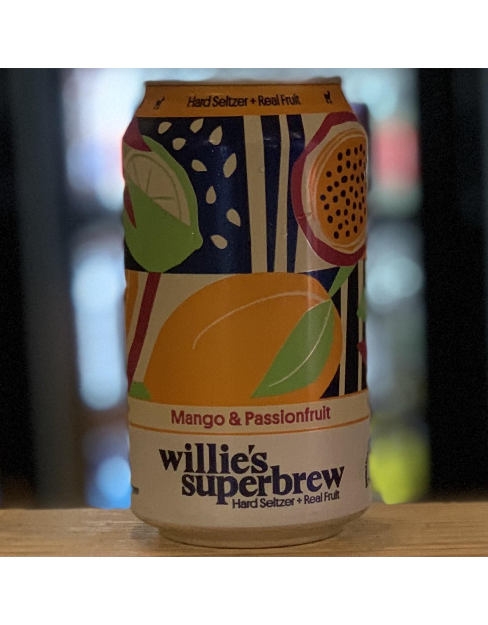 Hard Seltzer Willie's Superbrew Hard Seltzer w/Mango & Passionfruit