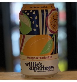 Hard Seltzer Willie's Superbrew Hard Seltzer w/Mango & Passionfruit