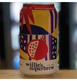 Hard Seltzer Willie's Superbrew Hard Seltzer w/Pomegranate & Acai