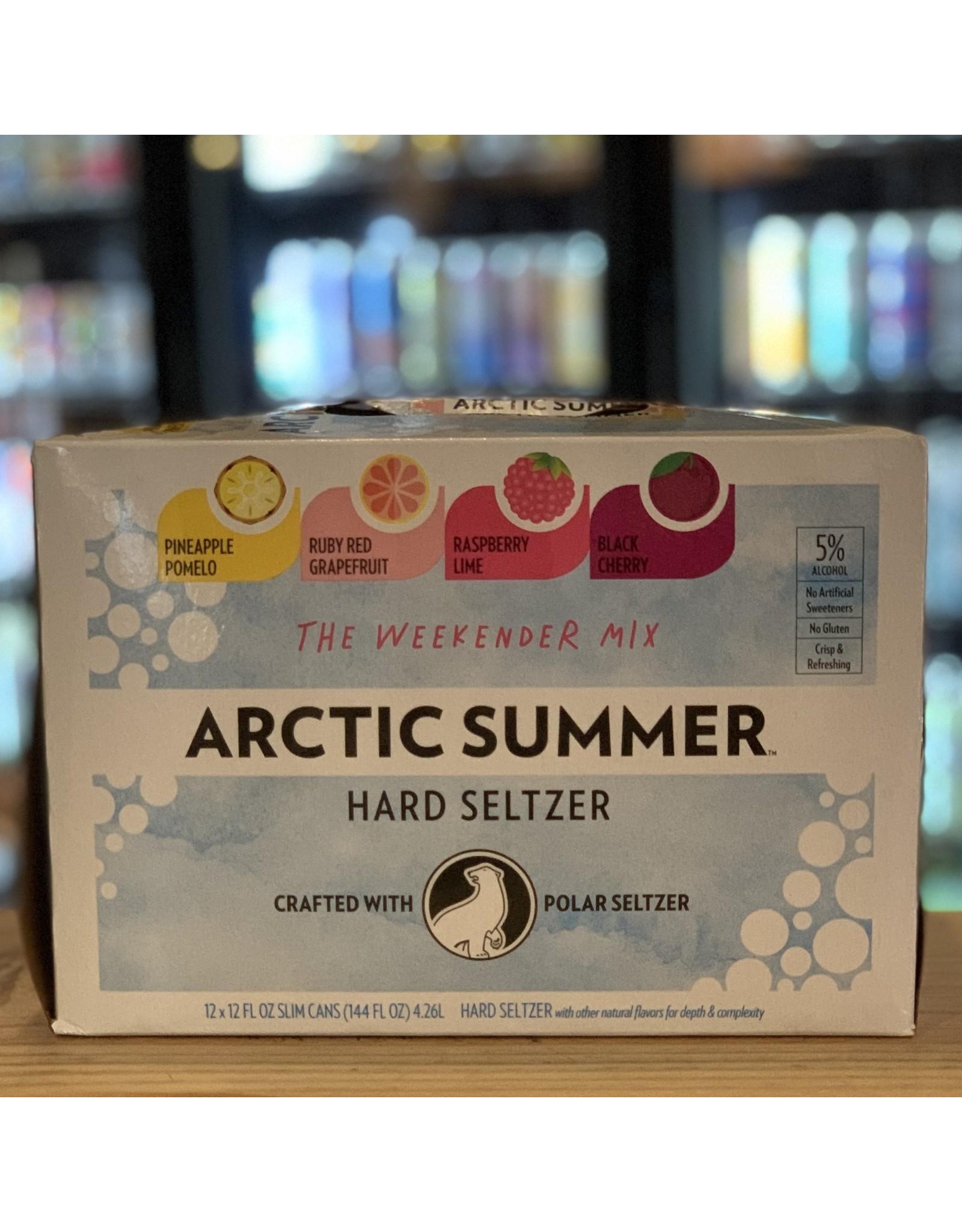 12-Pack Polar Arctic Summer ''Weekender'' Hard Seltzer Variety 12pk Cans