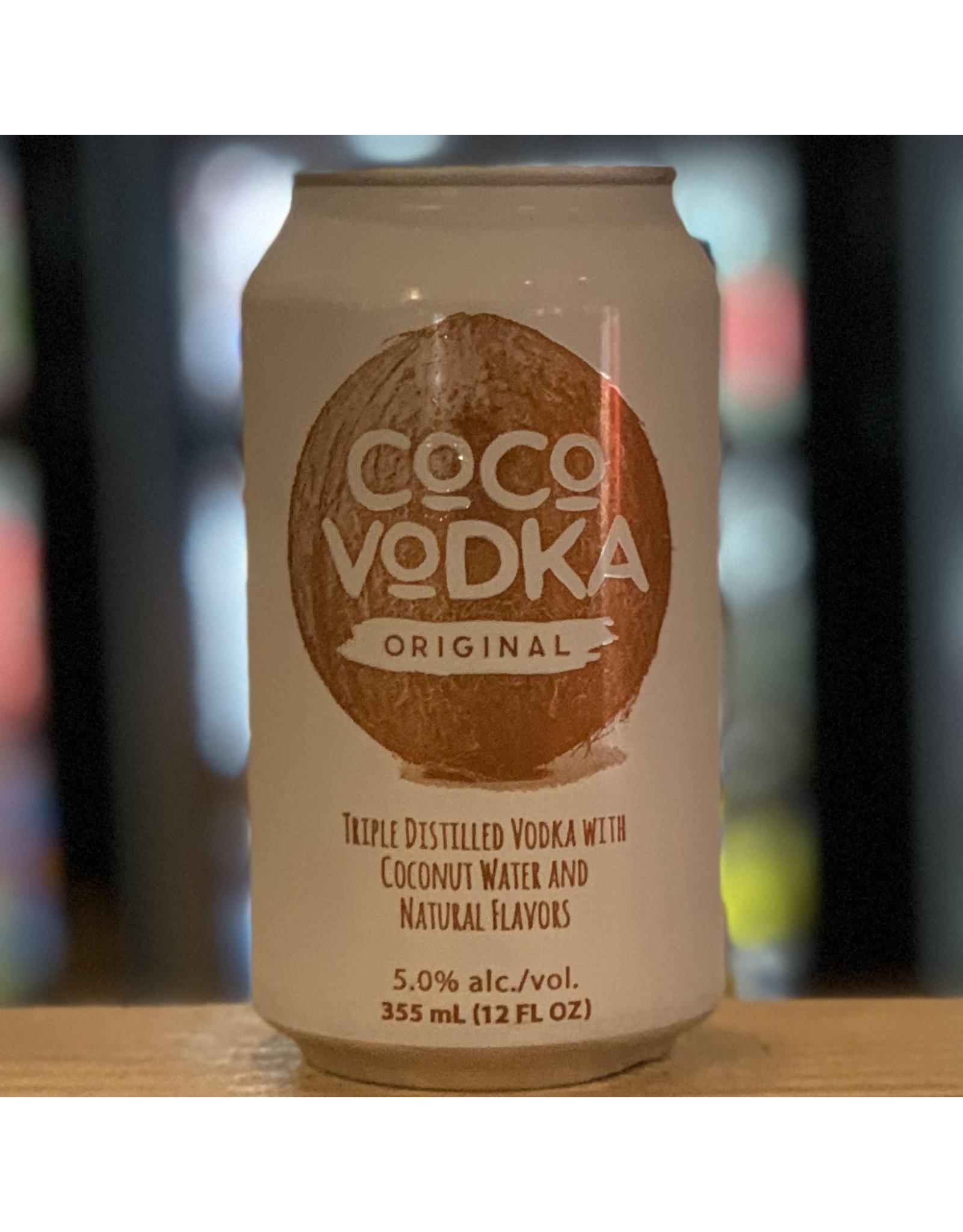 RTD Bondi Distillery ''Coco Vodka'' Sparkling RTD Vodka and Coconut Water - Utica, NY
