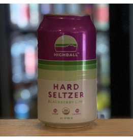 Hard Seltzer Peak Organic Brewing ''HighBall'' Hard Seltzer w/Blackberry and Lime - Porland, ME