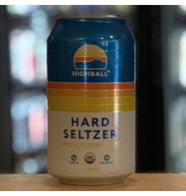 Hard Seltzer Peak Organic Brewing ''Highball'' Hard Seltzer w/Lemon and Elderberry - Portland, ME