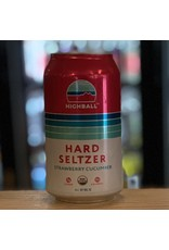 Hard Seltzer Peak Organic Brewing ''HighBall'' Hard Seltzer w/Strawberry and Cucumber - Porland, ME