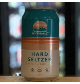 Hard Seltzer Peak Organic Brewing ''Highball'' Hard Seltzer w/Grapefruit and Hibiscus