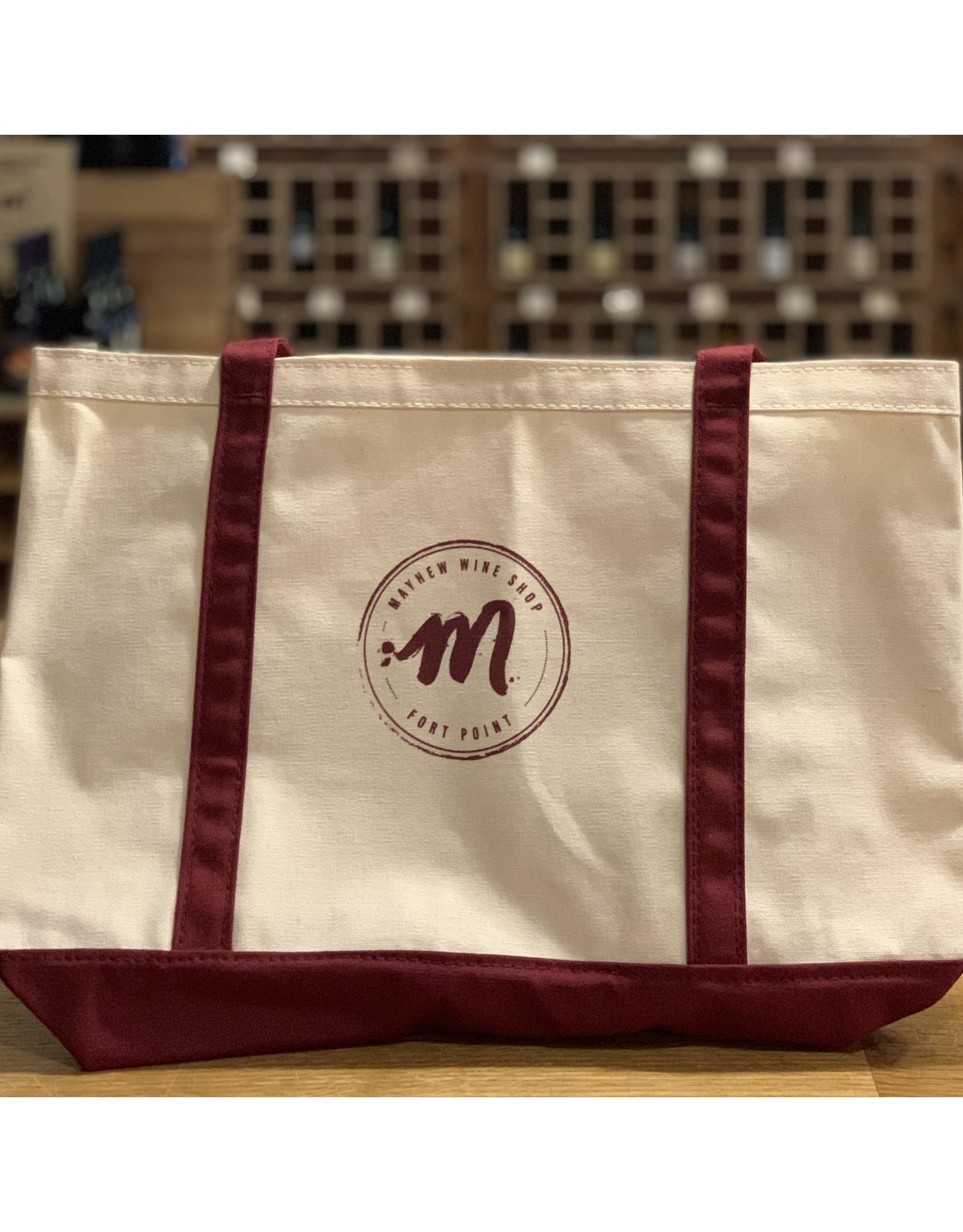 Mayhew Wine Shop Mayhew Canvas Boat Tote Bag
