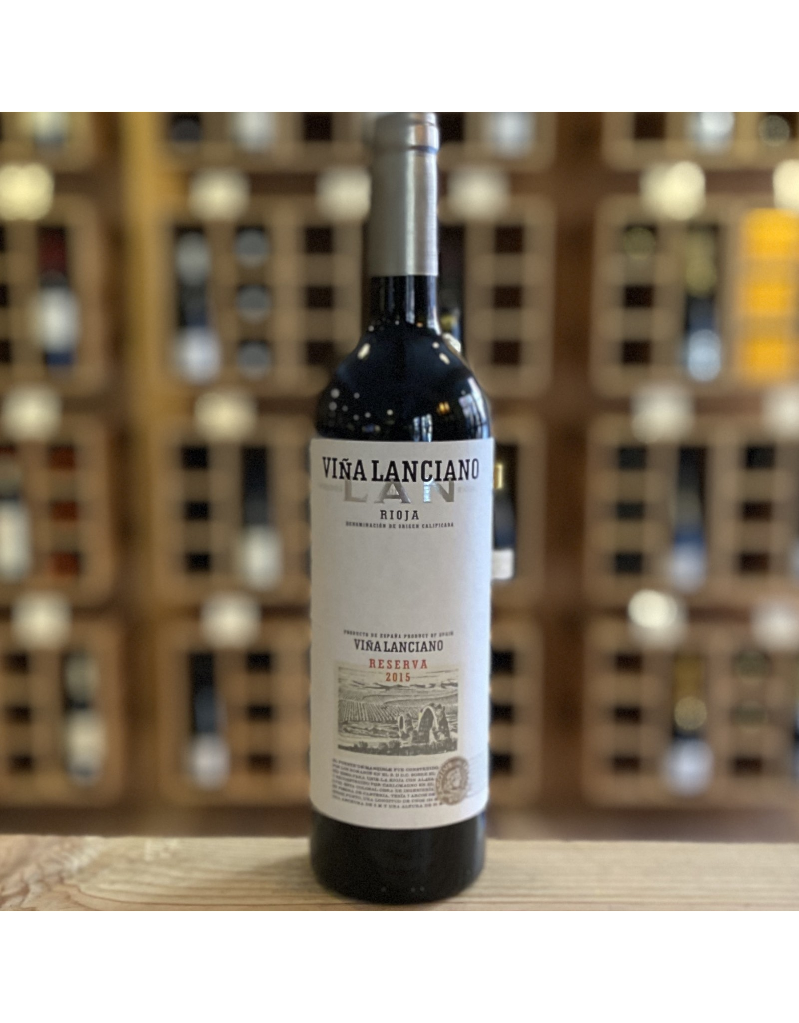 """Rioja Bodegas LAN """"Vina Lanciano'' Single Vineyard Rioja Reserva 2015 - Rioja, SP"""