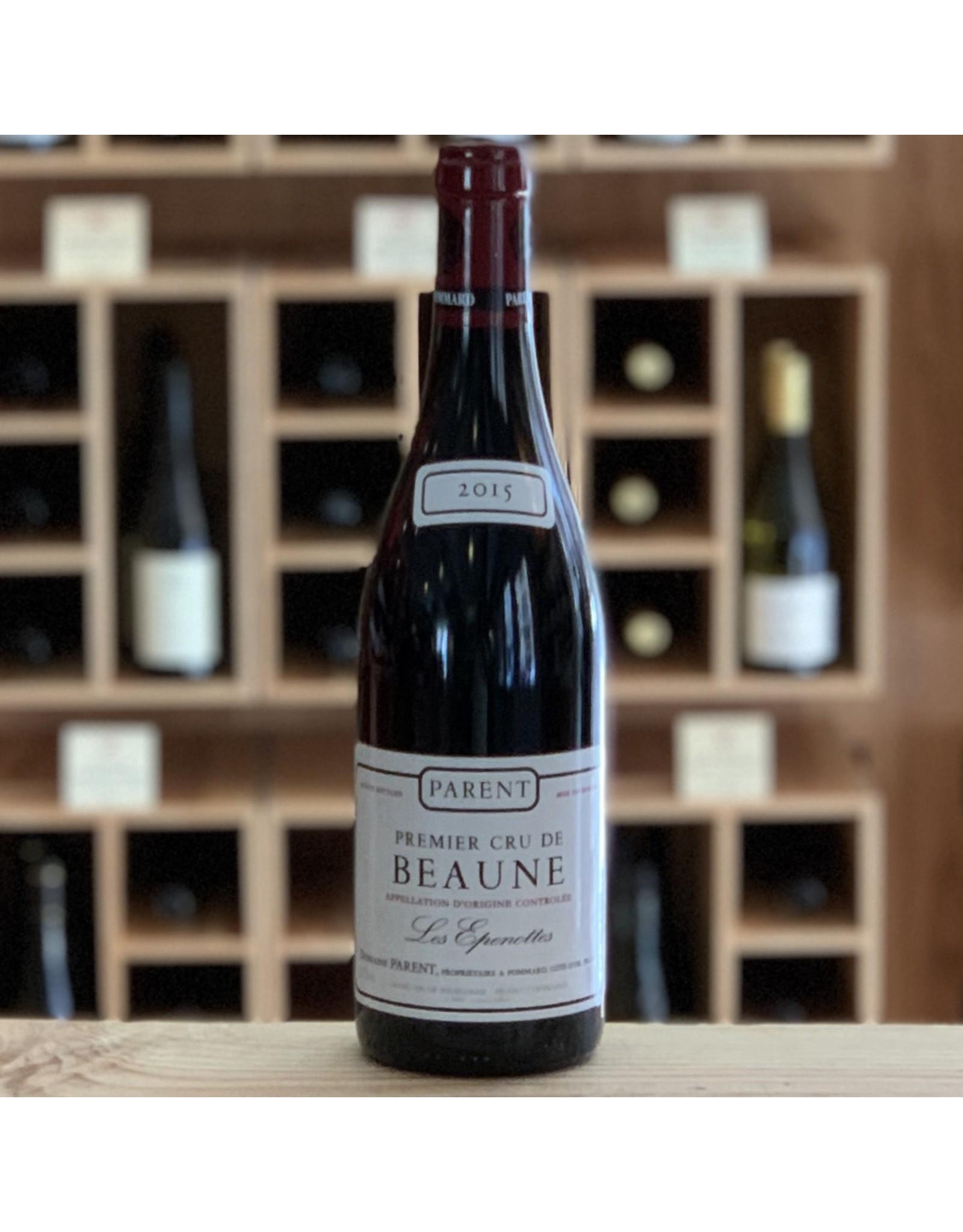 "Burgundy Domaine Parent ""Les Epenottes"" Beaune 1er Cru 2015 - Burgundy, France"