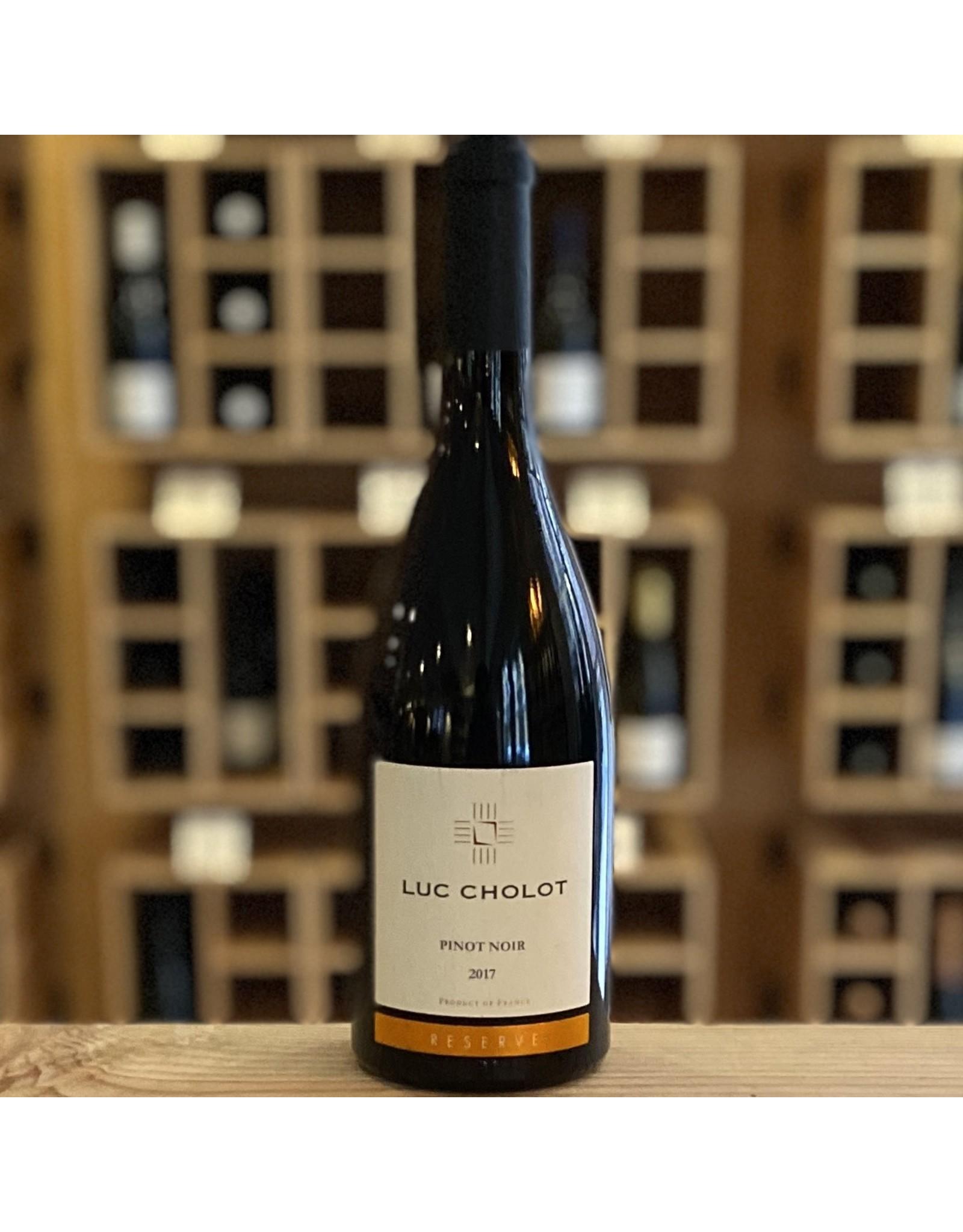 """Languedoc-Roussillon Luc Cholot """"Reserve"""" Pinot Noir 2018 - Lanquedoc-Roussilon, France"""