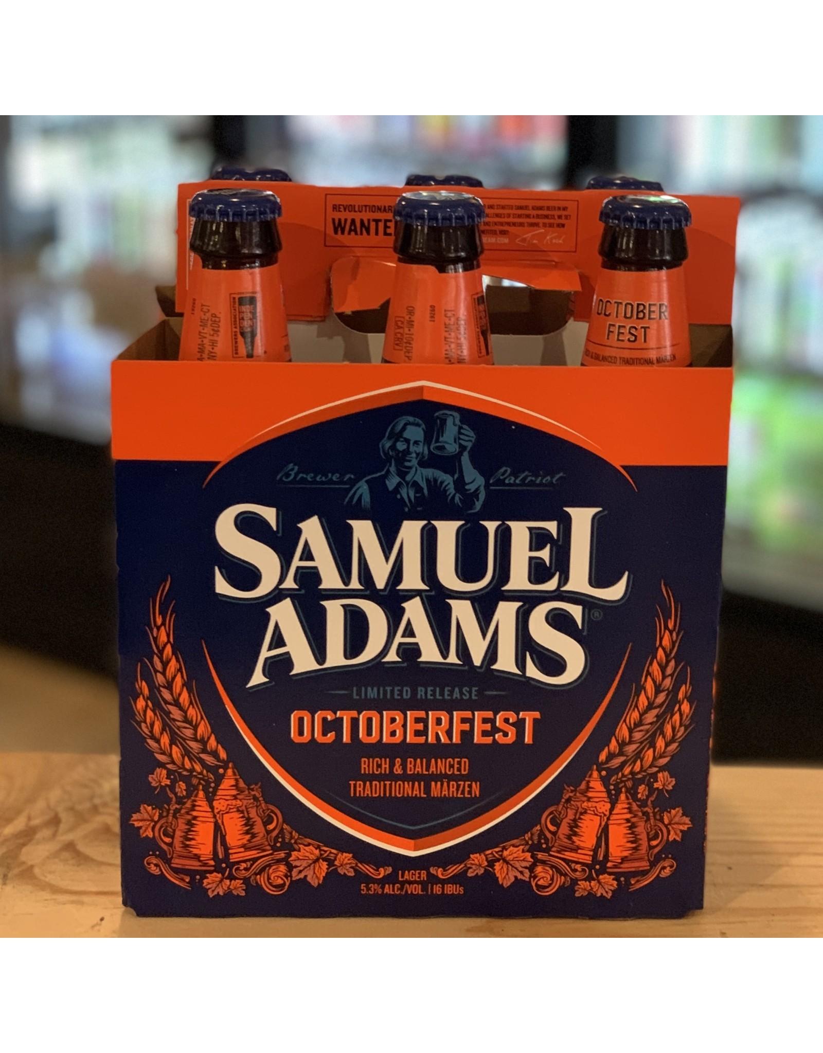"""Lager Sam Adams """"Oktoberfest"""" Lager 6-Pack - Boston, MA"""