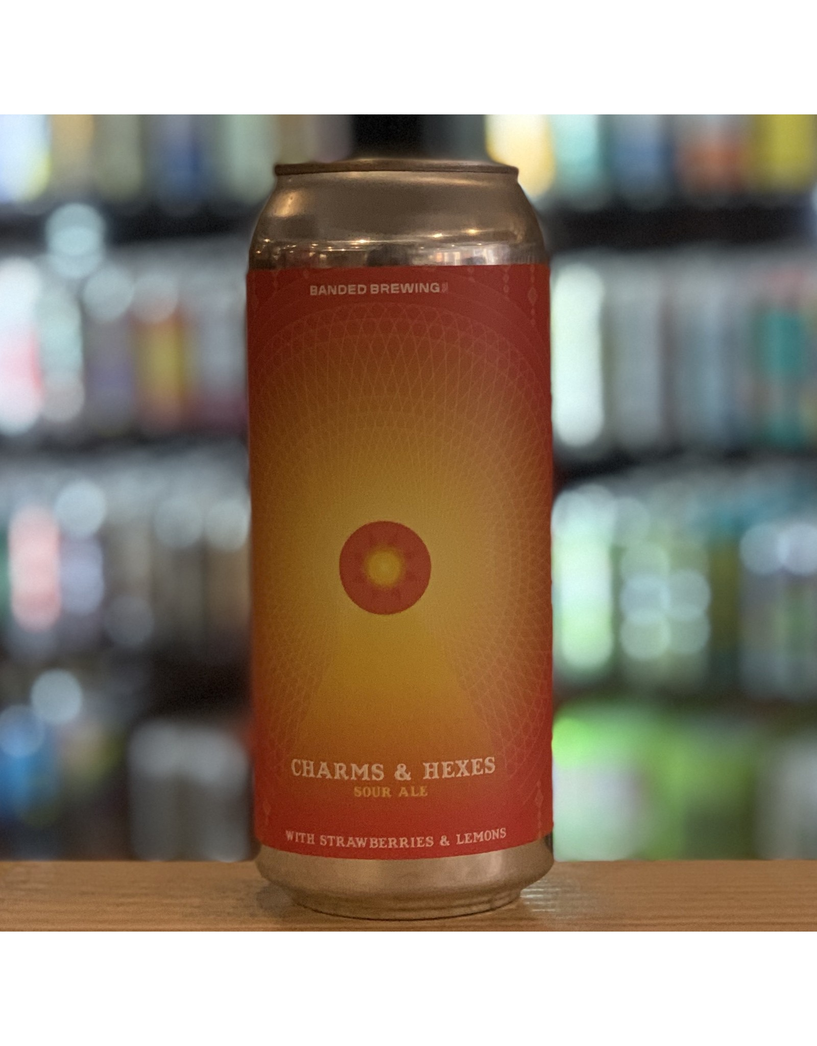 """Sour Banded Brewing """"Charms & Hexes"""" Sour Ale w/Strawberries and Lemon - Biddeford, ME"""