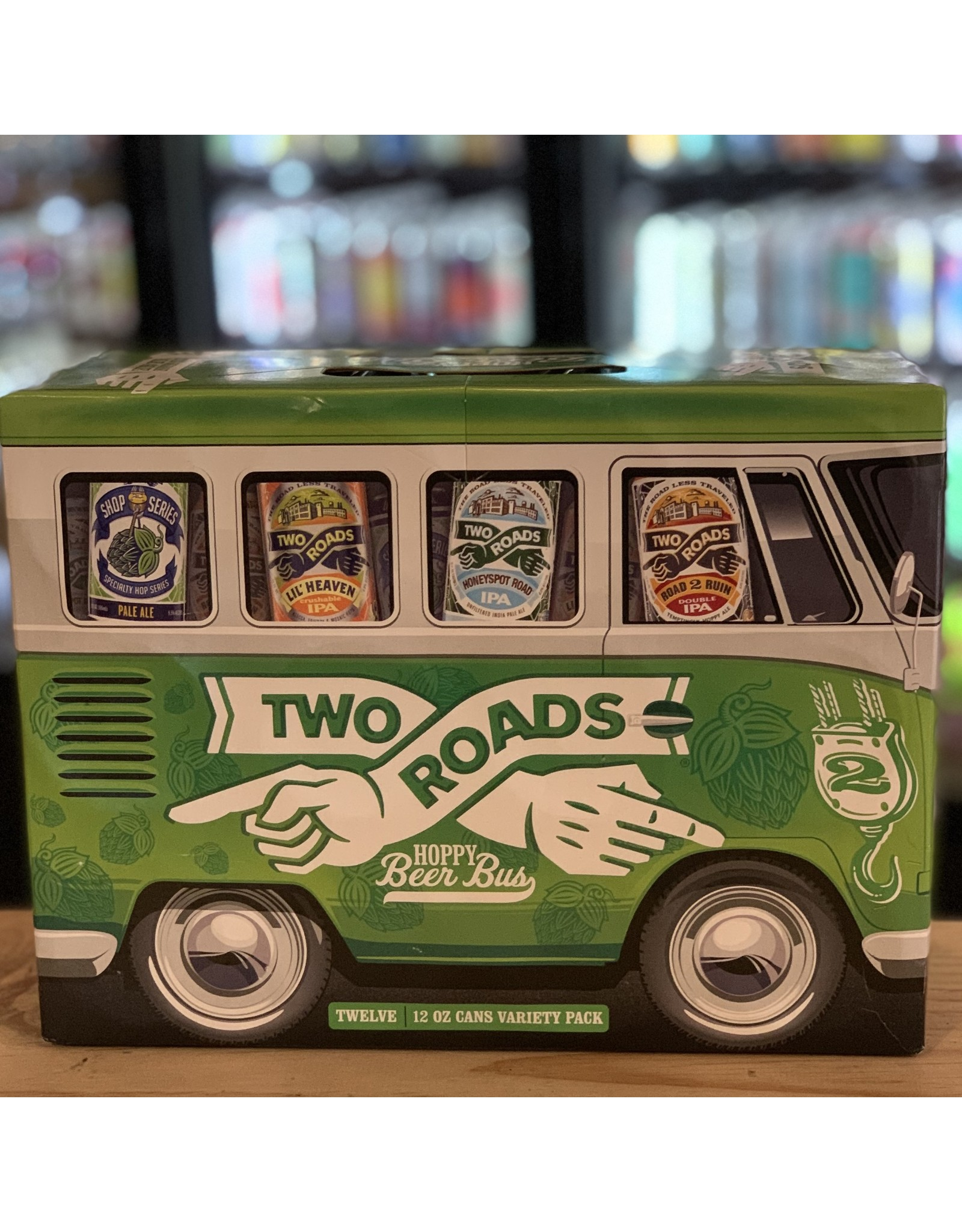 12-Pack Two Roads ''Beer Bus'' Variety Pack - Stratford, CT