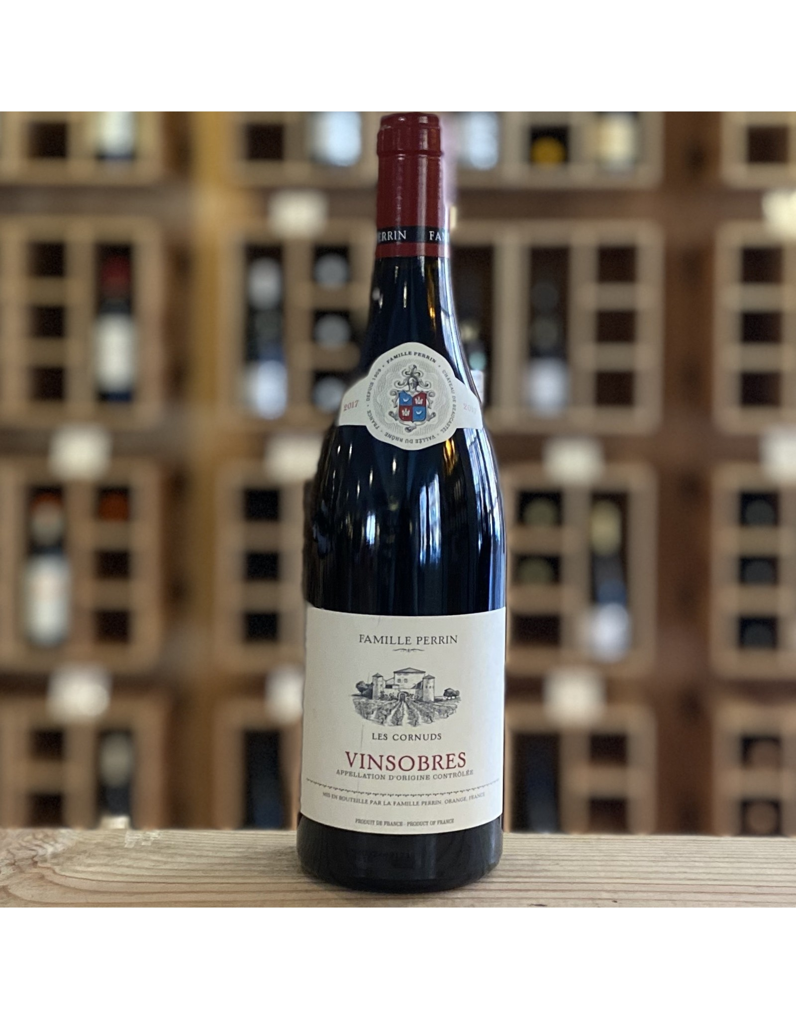 Rhone Valley Famille Perrin ''les Cornuds'' Vinsobres Rouge 2017 - Rhone Valley, France