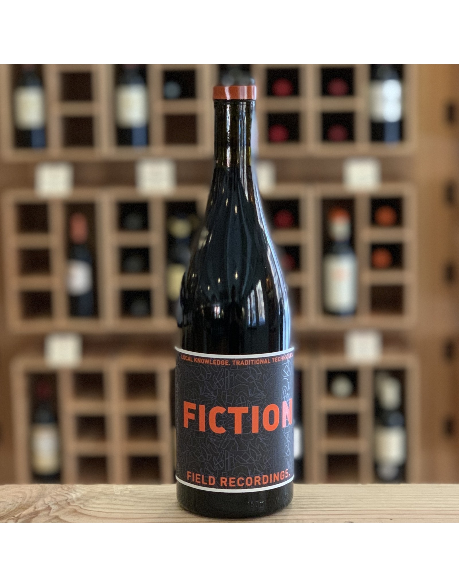 """Vegan Field Recordings """"Fiction"""" Red Blend 2019 - Paso Robles, CA"""