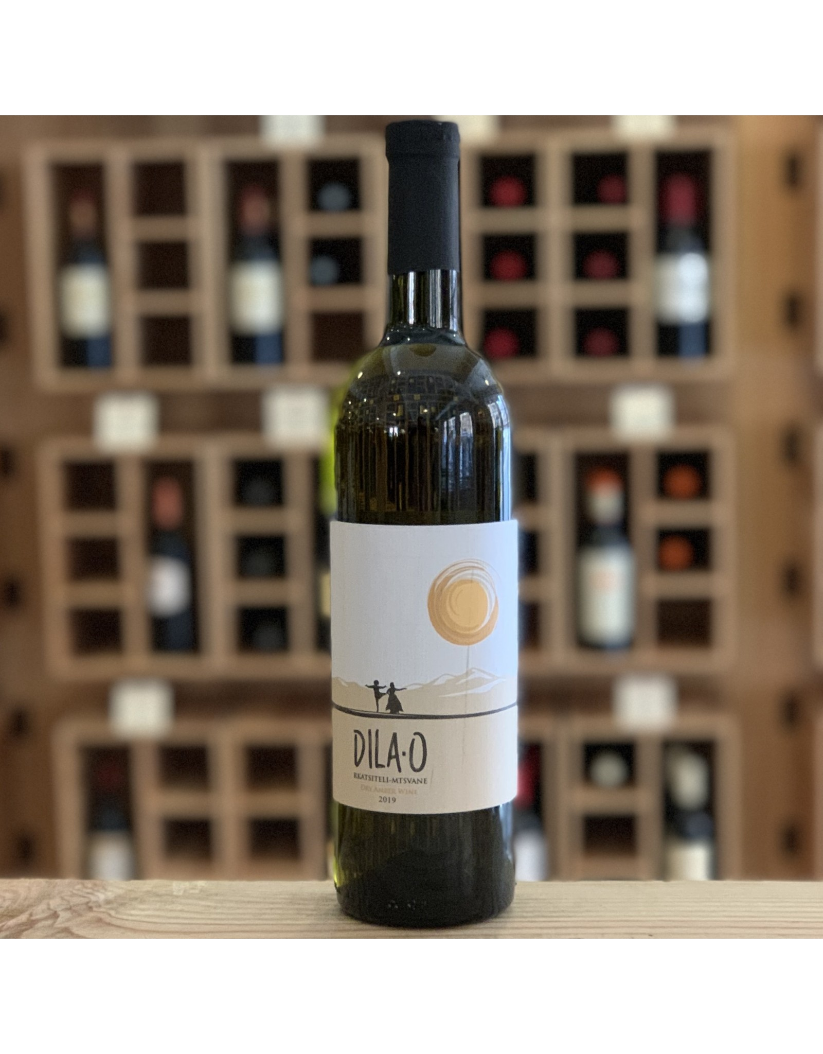 "Georgia Teleda Orgo ""Dila-O"" Dry Amber Wine 2019- Telavi, Georgia"